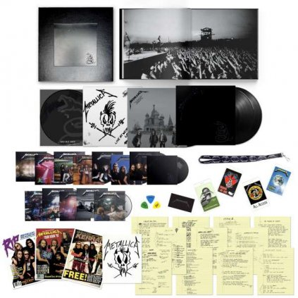 VINYLO.SK   Metallica ♫ Metallica (Black Album) / Deluxe Box Set limited [6LP + 14CD + 6DVD] Vinyl 0602508507076