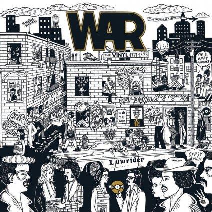 VINYLO.SK | WAR ♫ Give Me Five! The WAR Albums (1971-1975) Coloured Vinyl BOX SET =RSD= [5LP] Vinyl 0603497844999