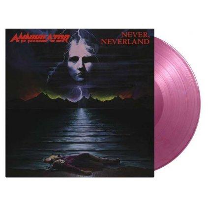 VINYLO.SK | Annihilator ♫ Never, Neverland / Limited Edition / 3500 Numbered Copies On Purple Marbled Vinyl [LP] Vinyl 8719262019928