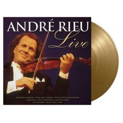 VINYLO.SK | Rieu Andre ♫ Live / Limited Edition / 1000 Copies On Gold Vinyl [LP] Vinyl 8719262020092