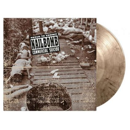 VINYLO.SK | Nailbomb ♫ Proud To Commit Commercial Suicide / Limited Edition / 1000 Copies On Smoke Coloured Vinyl [LP] Vinyl 8719262020689