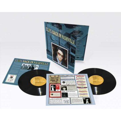 VINYLO.SK | Presley Elvis ♫ Back In Nashville [2LP] Vinyl 0194398838816
