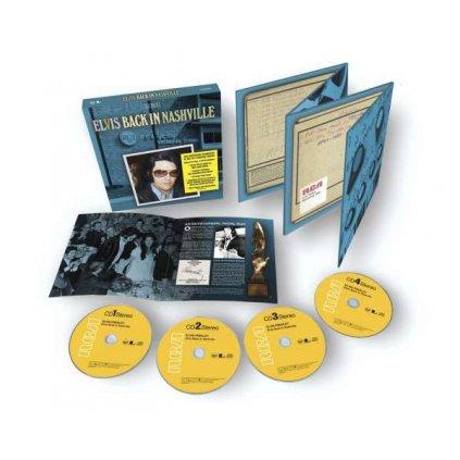 VINYLO.SK | Presley Elvis ♫ Back In Nashville [4CD] 0194398838922