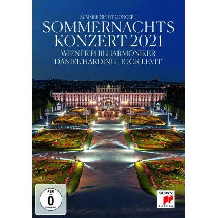 VINYLO.SK | Wiener Philharmoniker / Daniel Harding ♫ Sommernachtskonzert 2021 / Summer Night Concert [DVD] 0194399049297