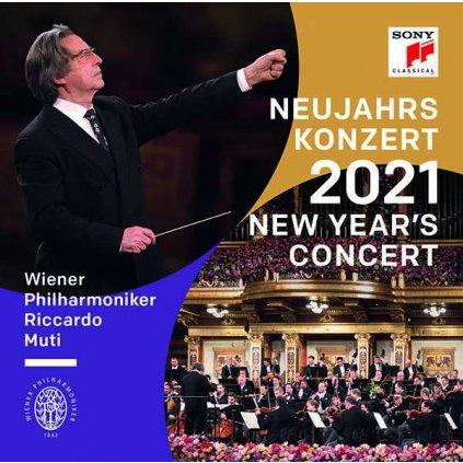 VINYLO.SK | Wiener Philharmoniker / Riccardo Muti ♫ Neujahrskonzert 2021 / New Year's Concert [3LP] Vinyl 0194398401911