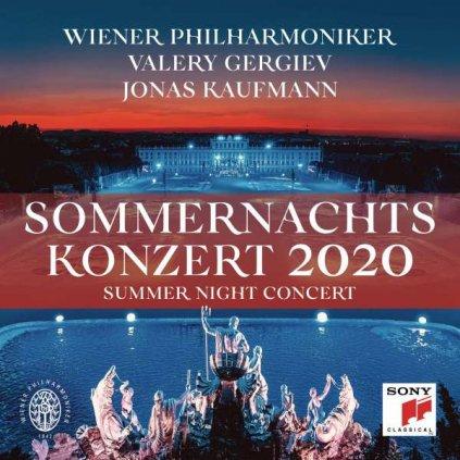 VINYLO.SK   Wiener Philharmoniker / Valery Gergiev / Jonas Kaufmann ♫ Sommernachtskonzert 2020 / Summer Night Concert [CD] 0194397196221