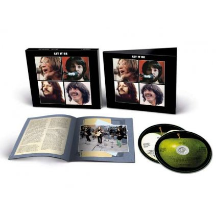 VINYLO.SK   Beatles, The ♫ Let It Be (2021 Mix) / Deluxe Edition [2CD] 0602507138622
