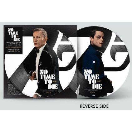 VINYLO.SK | ZIMMER HANS ♫ No Time To Die / OST / Limited Edition / Picture Vinyl [LP] Vinyl 0600753926956