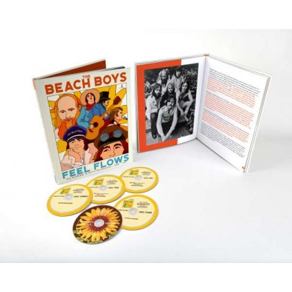 VINYLO.SK | Beach Boys ♫ Feel Flows: The Sunflower & Surf's Up Sessions 1969-1971 / Limited Edition [5CD] 0602508802188