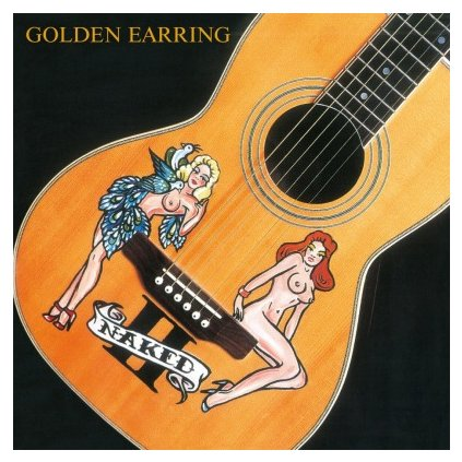 VINYLO.SK   GOLDEN EARRING - NAKED II (LP)180GR./INSERT/2000 NUMBERED CPS ON RED VINYL