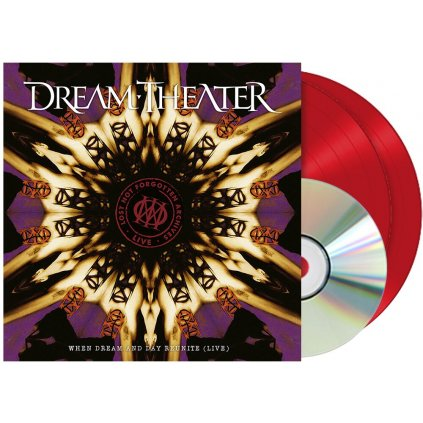 VINYLO.SK | Dream Theater ♫ Lost Not Forgotten Archives: When Dream And Day Reunite  / Limited Edition / Red Vinyl / Remaster [2LP + CD] Vinyl 0194399264317