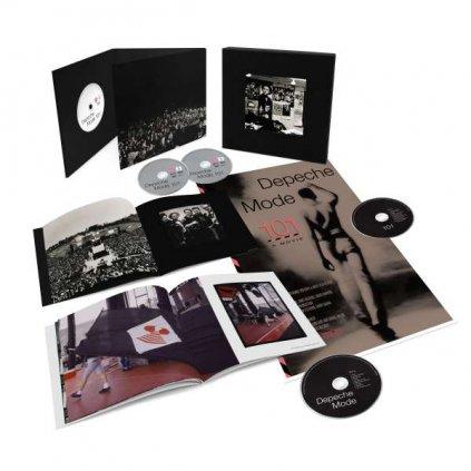 VINYLO.SK   Depeche Mode ♫ 101 / Incl. Photo Book & Poster [2CD + 2DVD + Blu-Ray] 0194399020395