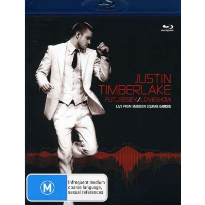 VINYLO.SK | TIMBERLAKE, JUSTIN - FUTURESEX/LOVESHOW (LIVE FROM MADISON SQUARE GARDEN) [2Blu-Ray]