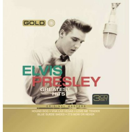 VINYLO.SK   PRESLEY, ELVIS - GOLD-GREATEST HITS [3CD]