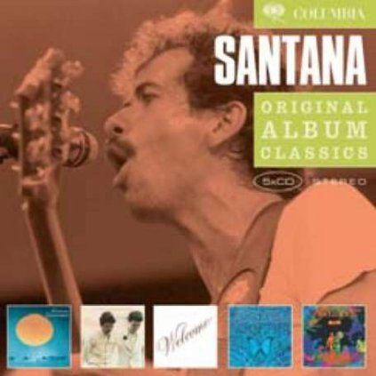 VINYLO.SK | SANTANA - ORIGINAL ALBUM CLASSICS [5CD]