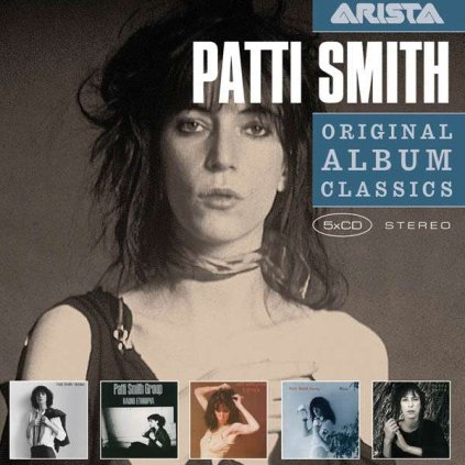 VINYLO.SK | SMITH, PATTI - ORIGINAL ALBUM CLASSICS [5CD]