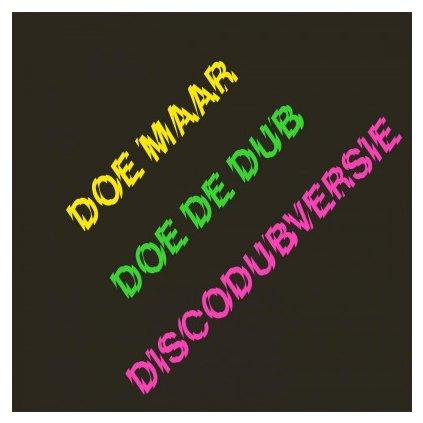 VINYLO.SK | DOE MAAR - DOE DE DUB (DISCODUBVERSIE) (2LP).. (DISCODUBVERSIE)/180 GR/INCL CD/1000 CPS GREEN VINYL