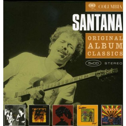 VINYLO.SK | SANTANA - ORIGINAL ALBUM CLASSICS 2 [5CD]