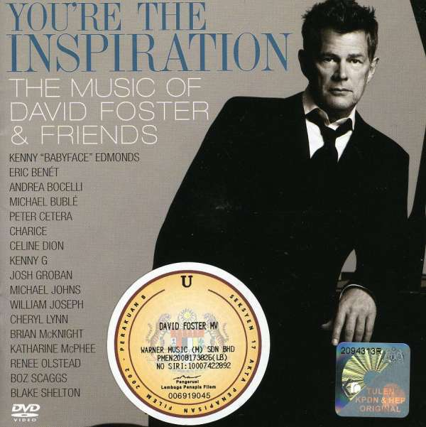 Foster David ♫ You're The Inspiration - The Music Of David Foster & Friends [2CD]