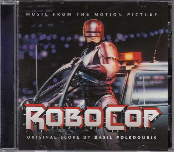 OST / Basil Poledouris ♫ Robocop [CD]