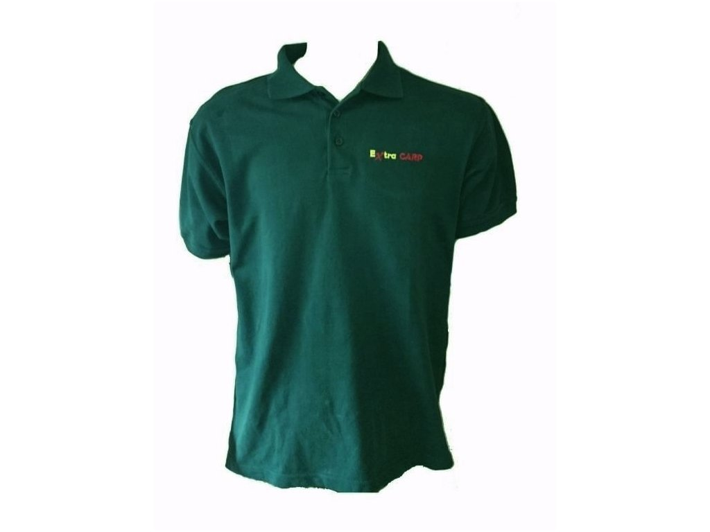 Extra Carp Polo Tričko Dark Green