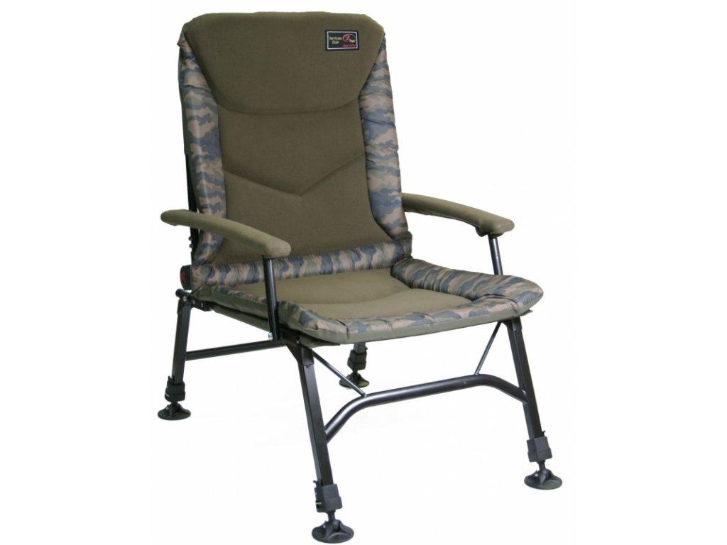 Zfish Křeslo Hurricane Camo Chair