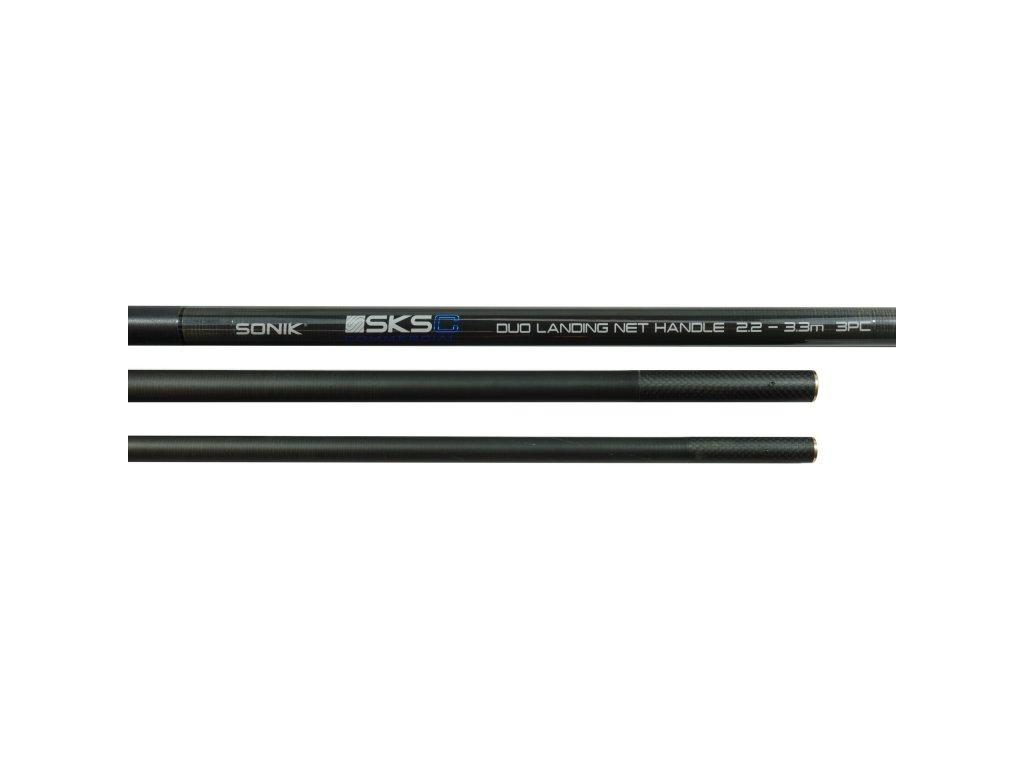 Sonik: Podběráková tyč SKSC Commercial Duo Landing Net Handle 3,3m