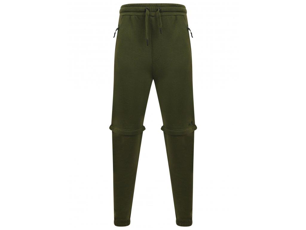 Navitas: Tepláky Zip Off Jogga Green Velikost XL