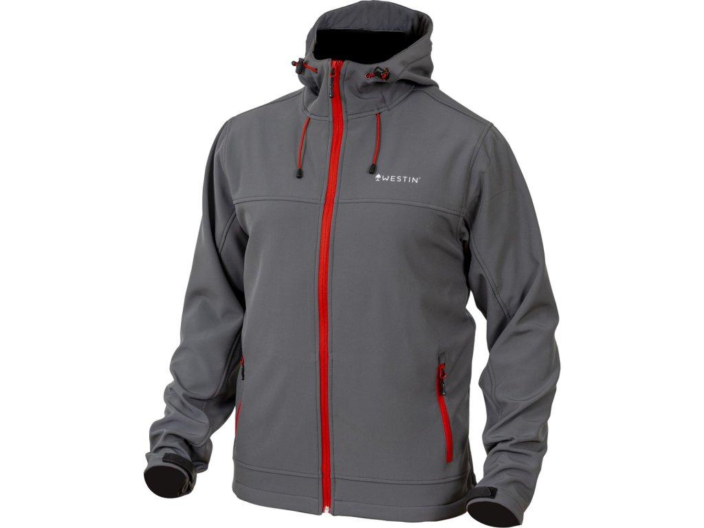 Westin: Bunda W4 Softshell Jacket Steel Grey Velikost 3XL