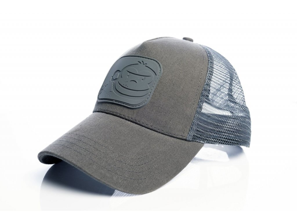 RidgeMonkey: Kšiltovka APEarel Dropback Pastel Trucker Cap Grey