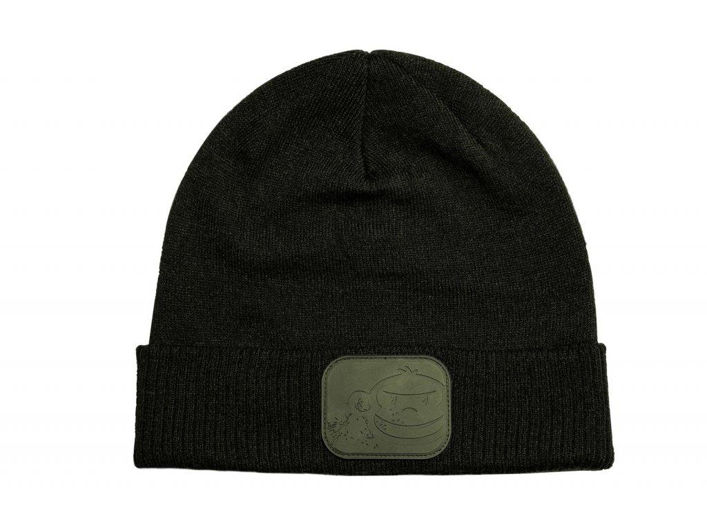 RidgeMonkey: Čepice APEarel Dropback Beanie Hat Green