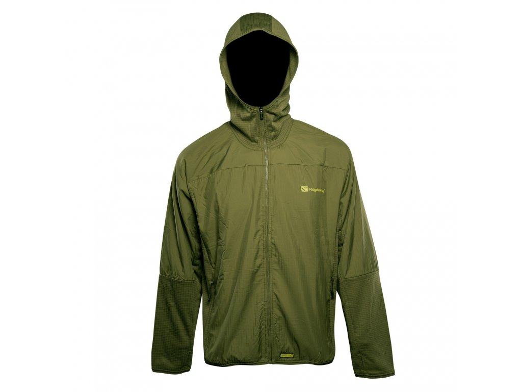 RidgeMonkey: Bunda APEarel Dropback Lightweight Zip Jacket Green Velikost S