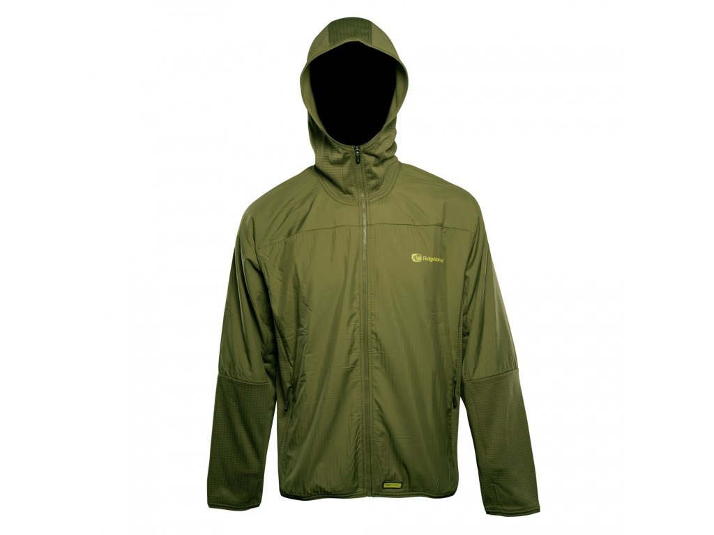 RidgeMonkey: Bunda APEarel Dropback Lightweight Zip Jacket Green Velikost XXXL