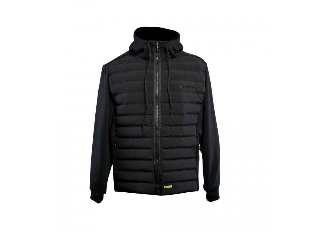 RidgeMonkey: Bunda APEarel Dropback Heavyweight Zip Jacket Black Velikost XXXL