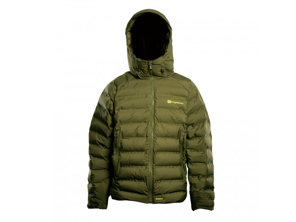 RidgeMonkey: Bunda APEarel Dropback K2 Waterproof Coat Green Velikost XXL