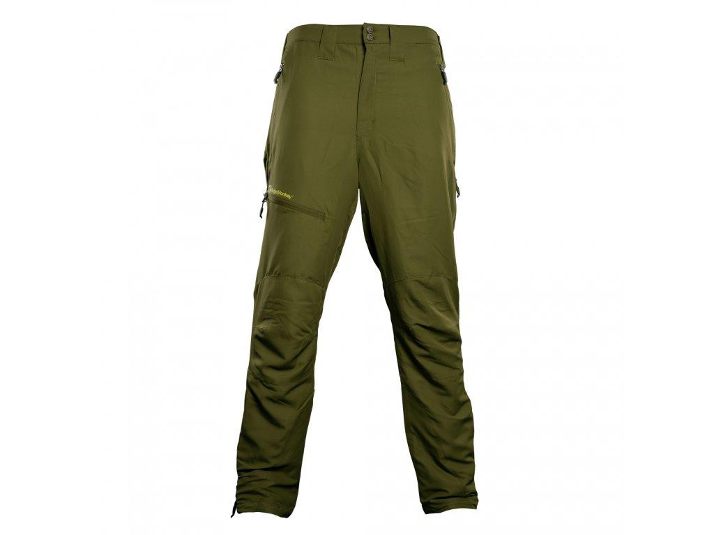 RidgeMonkey: Kalhoty APEarel Dropback Heavyweight Trousers Green Velikost XXXL