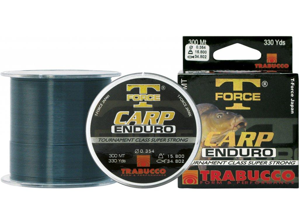 Trabucco vlasec T-Force Carp Enduro 600m (Varianta 0,255mm - 8.360kg)