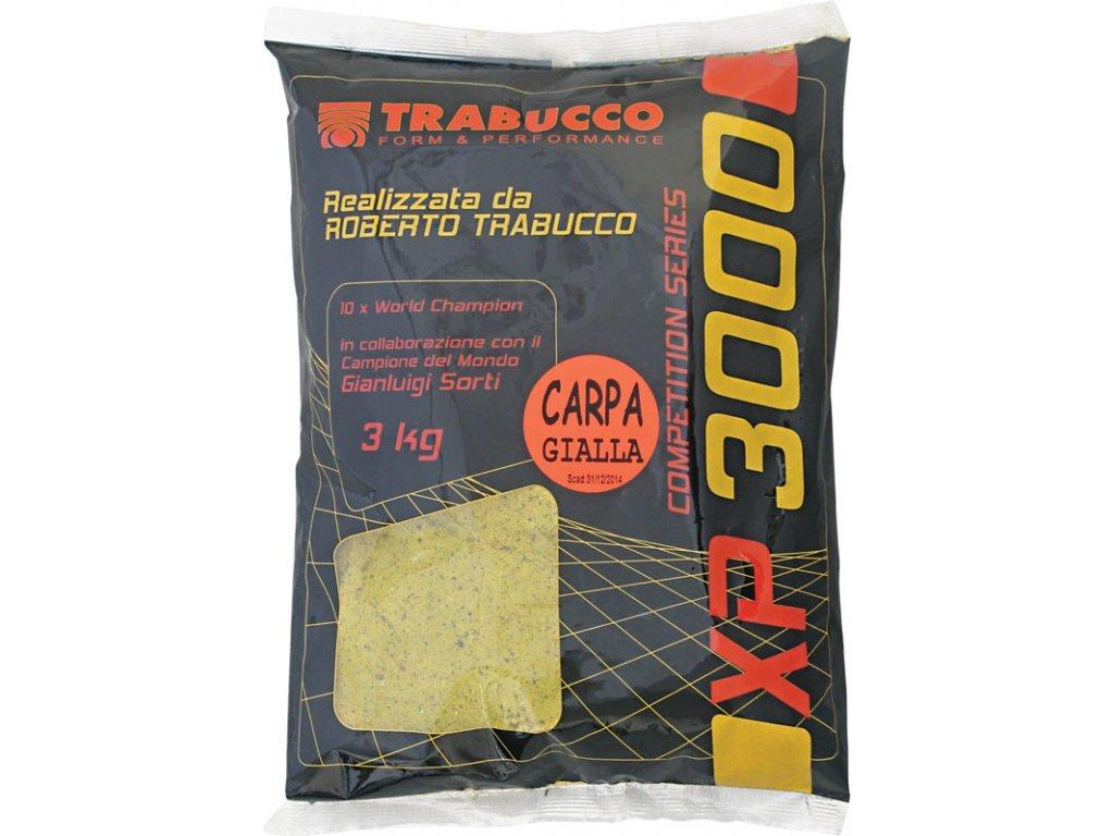 Trabucco vnadící směs XP 3000 3kg (Varianta Carpa Gialla)