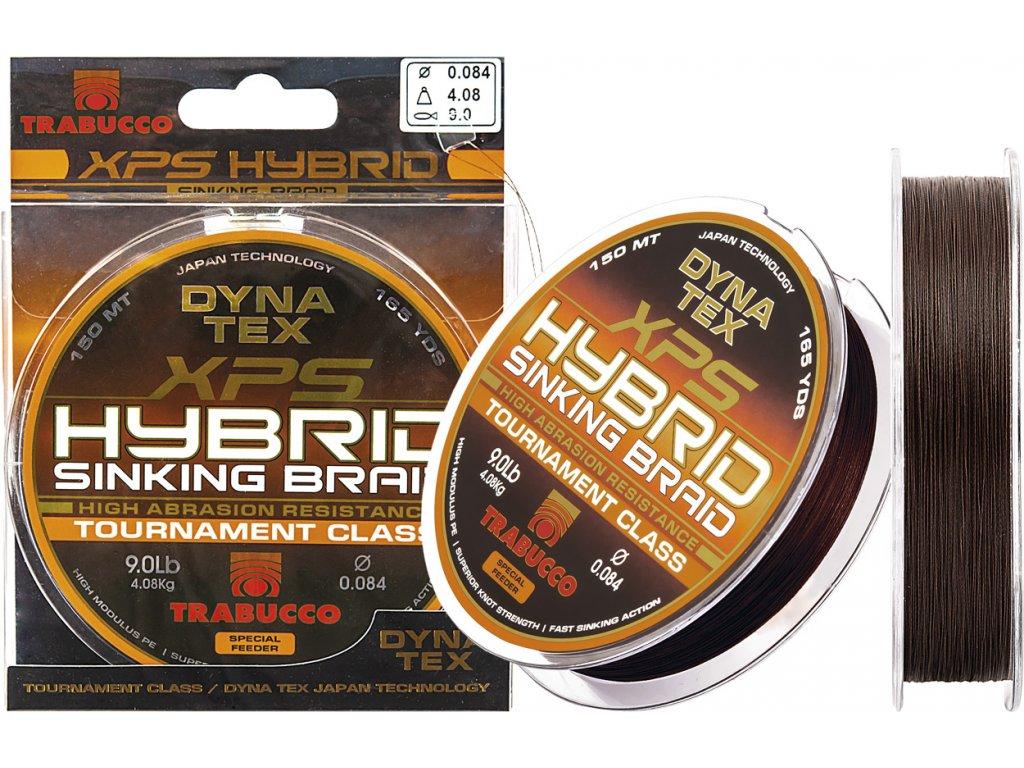Trabucco splétaná šňůra DYNA-TEX XPS HYBRID SINK BRAID 150m
