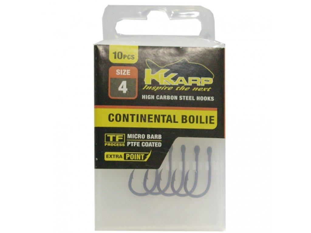 K-Karp háčky TF Continental Boilie