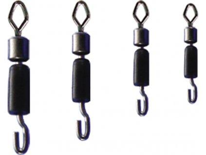 Trabucco rychlovýměnný obratlík Fast Link Swivels 6ks (Velikost Size 18)