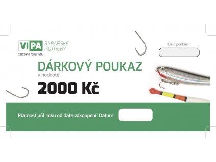 Dárkový poukaz 2000Kč