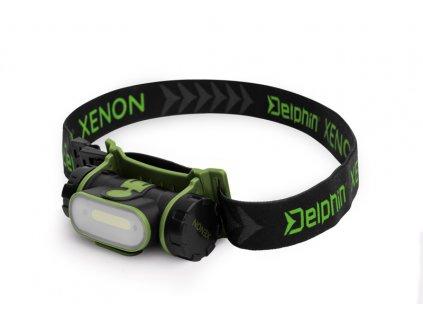 Čelová lampa Delphin XENON