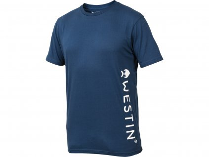 Westin: Tričko Pro T-Shirt Navy Blue Velikost XXL