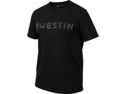 Westin: Tričko Stealth T-Shirt Black Velikost XXL