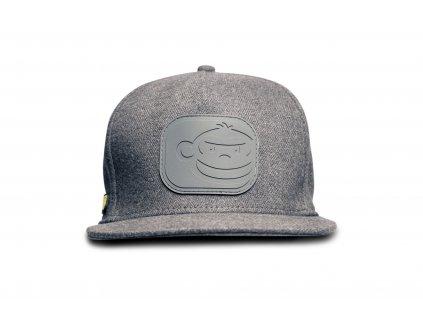 RidgeMonkey: Kšiltovka APEarel Dropback Snapback Cap Grey