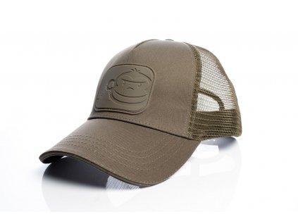 RidgeMonkey: Kšiltovka APEarel Dropback Pastel Trucker Cap Brown