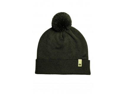 RidgeMonkey: Čepice APEarel Dropback Bobble Hat Green