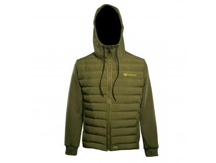 RidgeMonkey: Bunda APEarel Dropback Heavyweight Zip Jacket Green Velikost XL