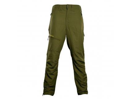 RidgeMonkey: Kalhoty APEarel Dropback Heavyweight Trousers Green Velikost XL